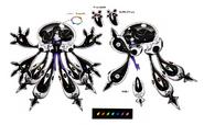 Lusamine Nihilego fused SM concept art