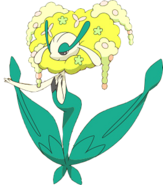 671Florges Yellow Flower XY anime