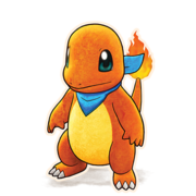 004Charmander Pokémon Mystery Dungeon Rescue Team DX