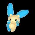 312Minun Pokémon HOME