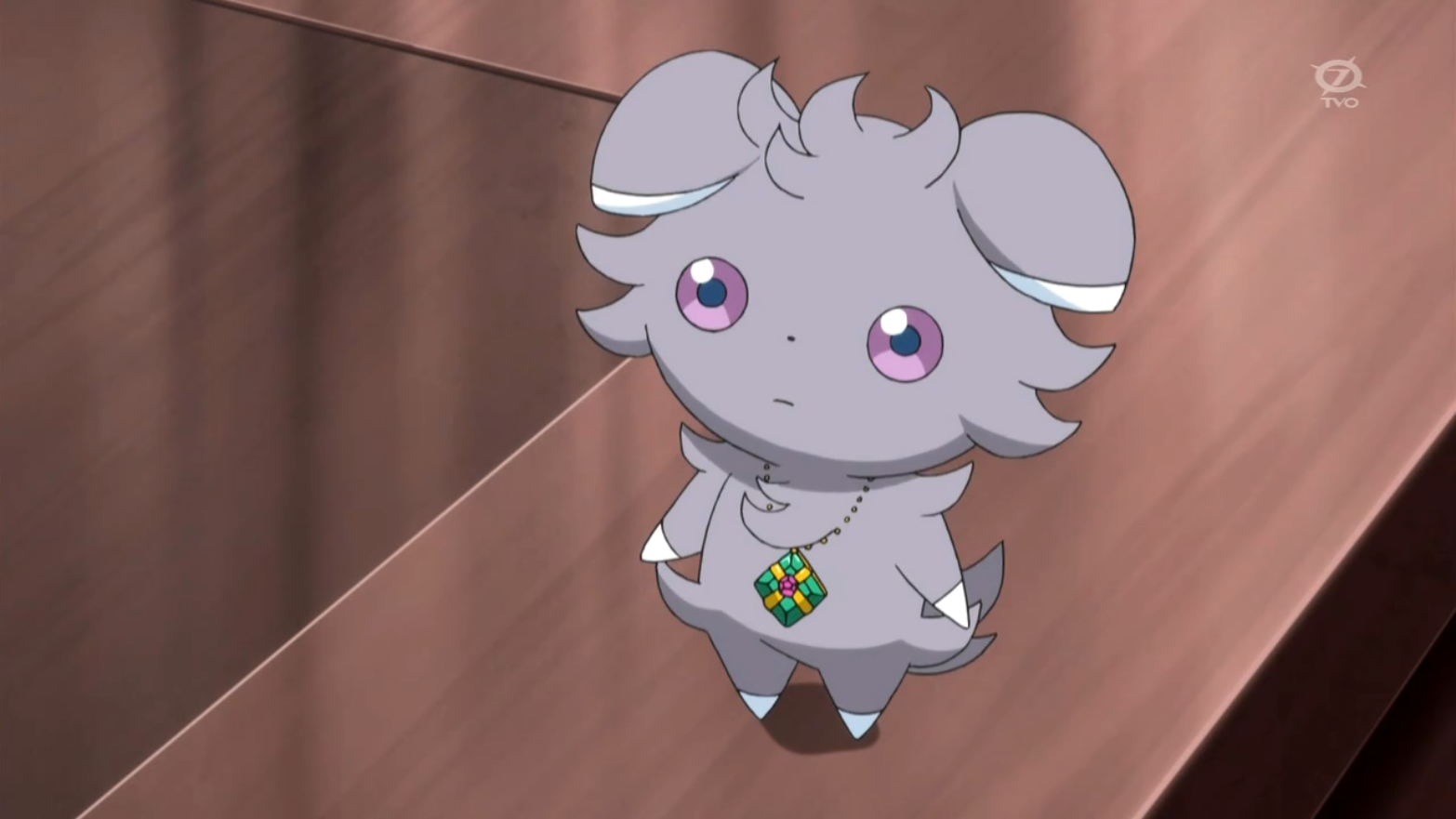 Elise befriended Espurr, who went with her to Lacy's grave to pay respects.