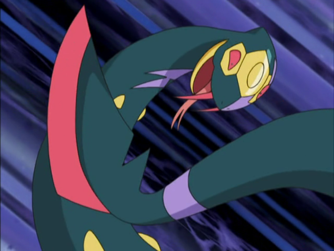Seviper is Lucy's main Pokémon. It was first seen battling Jessie's Seviper and beat it easily with brute force. It was later seen in her battle with Ash when it went up against Donphan and despite seeming to have the advantage Donphan managed to pull through with some thinking on Ash's part.