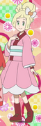Lillie kimono dress