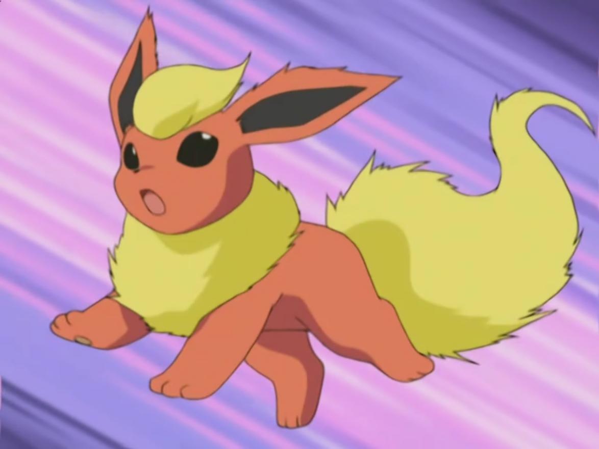 Savannah used Flareon for the Rubello Town's Pokémon Contest.