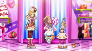 Serena, Bonnie and Diancie outfits