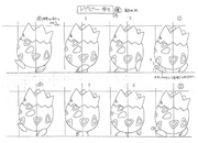 Togepi anime model sheet 4