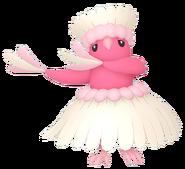741Oricorio Pa'u Style Pokémon HOME