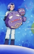 James and Weezing
