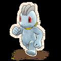 066Machop Pokémon Mystery Dungeon Rescue Team DX