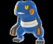 453Croagunk Pokemon Battle Revolution