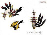 Original Forme Giratina concept 2