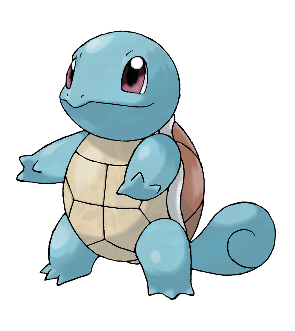 The fair host intended on introducing Squirtle to the audience, but it was cancelled, due to Charmander's accident.