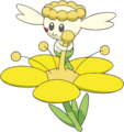 669Flabébé Yellow Flower XY anime