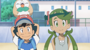 Ash and Mallow