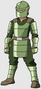 Green Army Knight