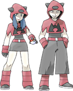 Team Magma Grunts Ruby and Sapphire
