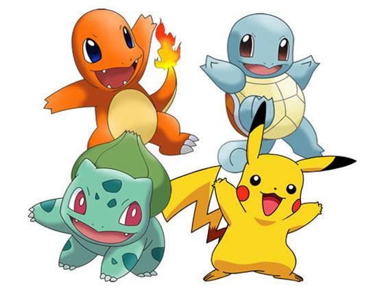 Эволюции стартовых покемонов