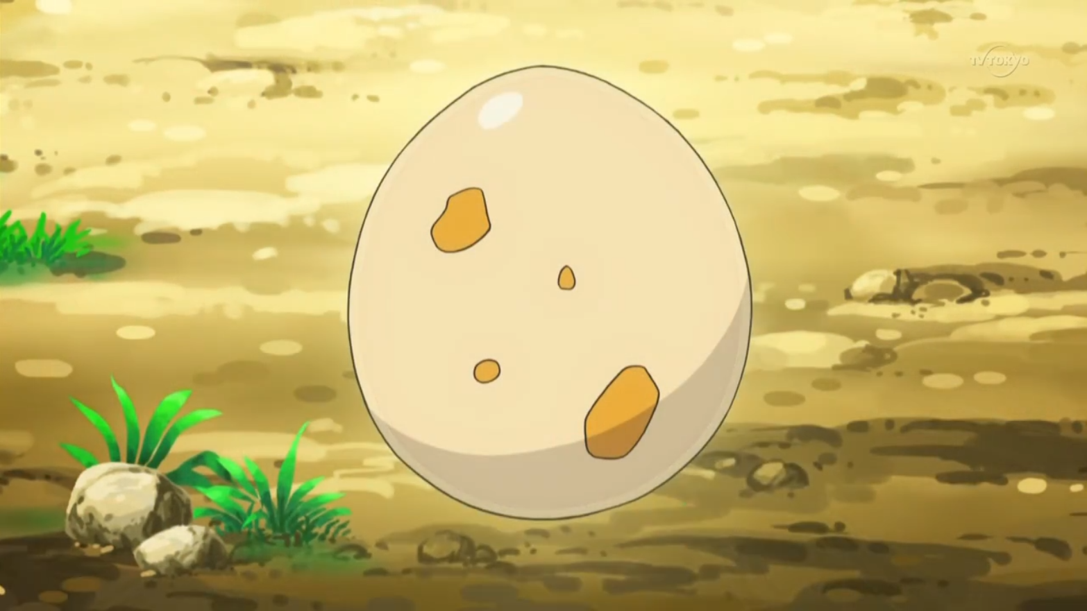 Karena gave this egg to Ash Ketchum. The egg later hatched into Ash's Scraggy.