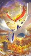 Legendary Pokémon of Johto Poster