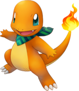004Charmander Pokémon Super Mystery Dungeon
