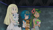 Lillie, Lana, and Mallow