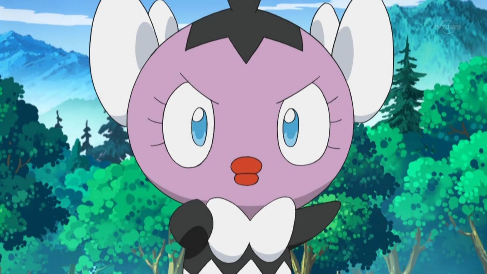 Katharine's Gothita is very bossy which really liked Scraggy. Due to that crush, her trainer challenged Ash to battle.