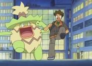 Brock and Ludicolo