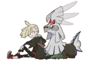 Gladion and Silvally2