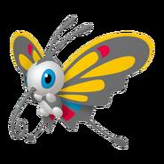 267Beautifly Female Pokémon HOME