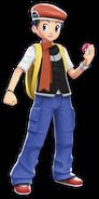 Lucas from Pokemon Battle Revolution