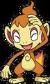 390Chimchar DP anime 4