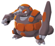 464Rhyperior Pokemon Battle Revolution