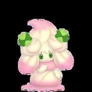 869Alcremie Ruby Swirl Clover Sweet Pokémon HOME