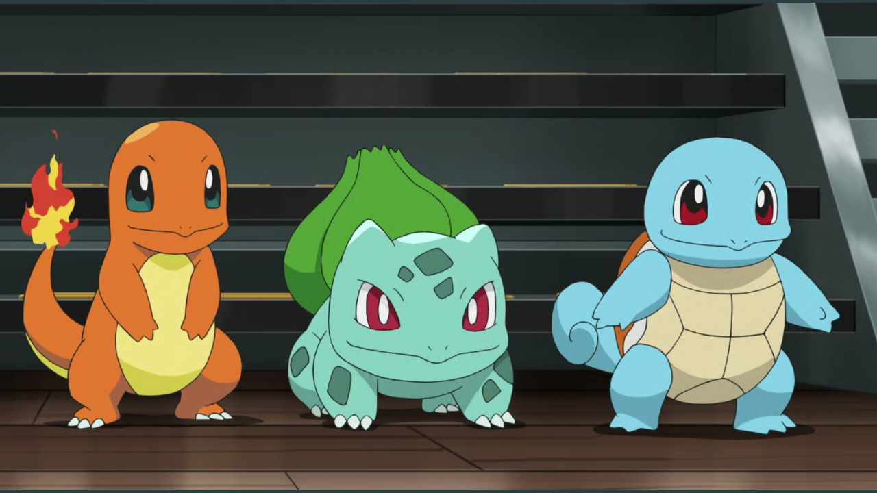 Professor Cerise offered Go a choice between Bulbasaur, Charmander, and Squirtle, but Go refused, saying he wanted his first Pokémon to be Mew.