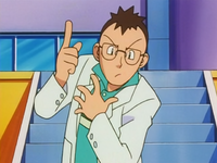 Professor Elm anime