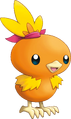 255Torchic Pokemon Mystery Dungeon Explorers of Sky