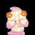 869Alcremie Ruby Swirl Flower Sweet Pokémon HOME