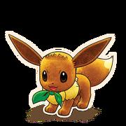 133Eevee Pokémon Mystery Dungeon Rescue Team DX