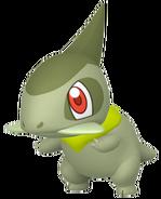 610Axew Pokémon HOME