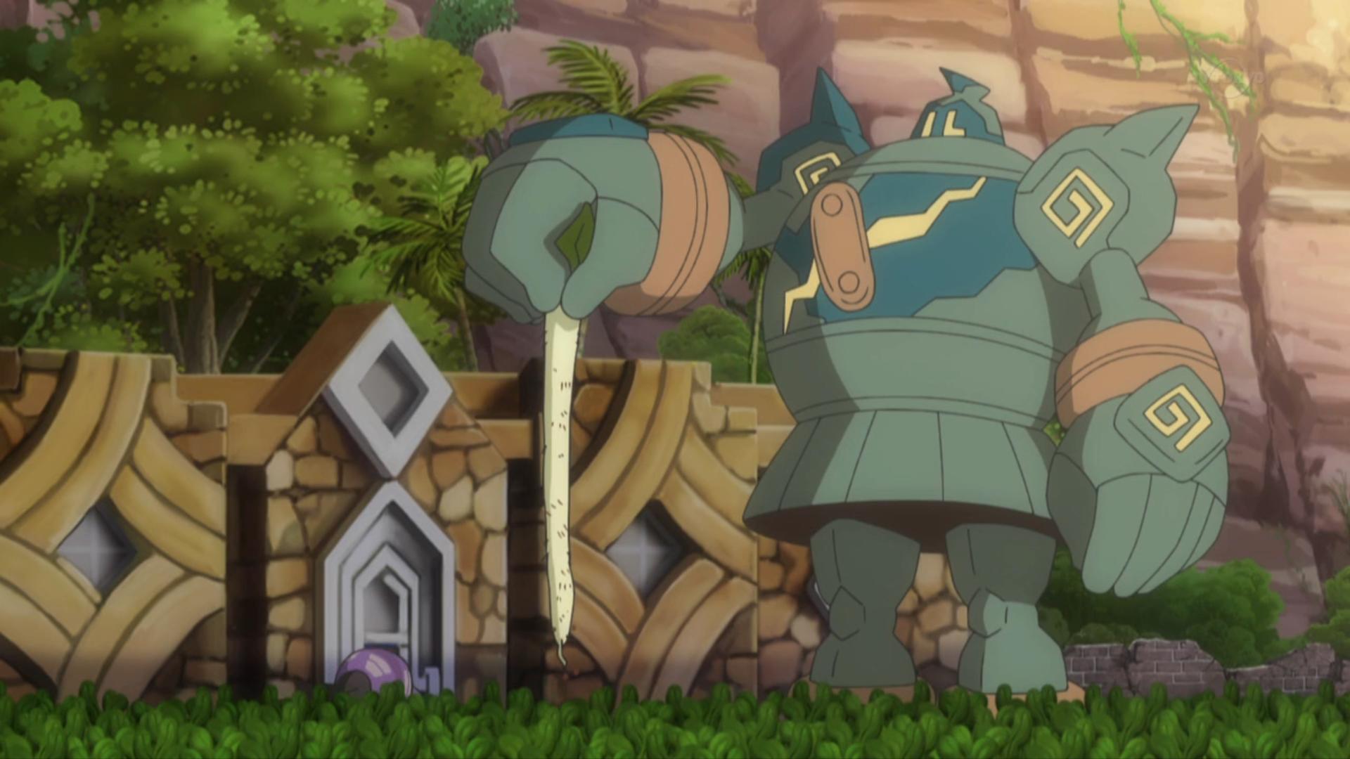 Hapu's Golurk (anime)