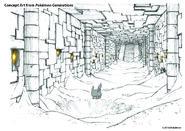 Pokémon Generations Concept Art Relic Castle