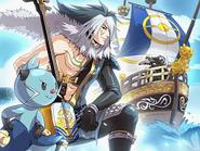 Pokemon Conquest - Dewott and Motochika's Ship