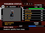 XD status screen
