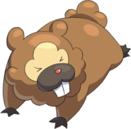 399Bidoof Pokemon Conquest