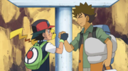 Ash and Brock