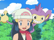 Dawn and Aipom