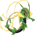 384Rayquaza-Mega XY anime 2