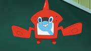 The Rotom Pokédex in the anime.