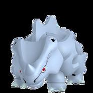 111Rhyhorn Female Pokémon HOME
