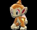 390Chimchar Pokemon Battle Revolution